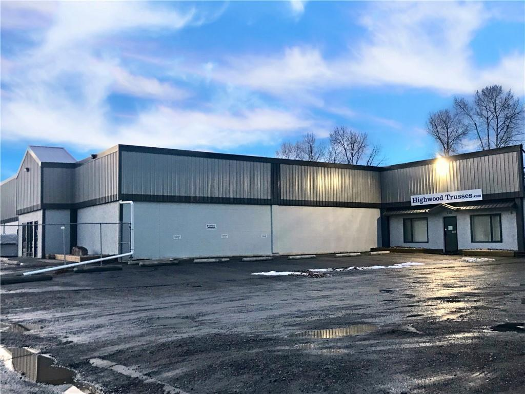 This property is located just off Hwy 23/12 Ave on the main road into High River. Businesses in the area include major car dealers, hotels, franchise fast food and restaurants. The site is 1.64 acres zoned service commercial, and buildings on the site include approximately 13,000 square feet of shop space, 4,000 square feet of retail or office space, plus an additional 5,000 square feet of unheated storage space. The lease rate is $8.00/sq ft plus operating costs.
