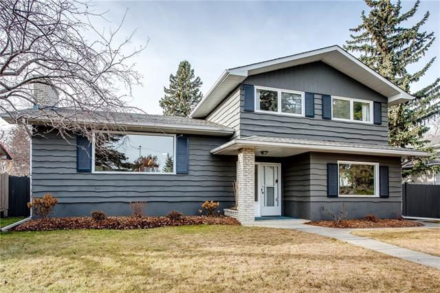 Open House 11/17 2:00 to 4:00. Welcome to this Extensively Renovated 4 bedroom modern/character home in the Kelvin Grove! This property has been professionally renovated w/warm, modern, contemporary finishes. The main level is a true Open Concept living space with large, custom kitchen that features an 8' x 4' island, full height custom-designed cabinet layout w/marble style quartz countertops. Kitchen incl a complete Kitchen Aid suite of SS appliances. Warm hardwood floors, wood burning FP, and huge picture windows only enhance this space. Just off the entrance is a second large family room w/ custom built-in desk and shelving, for the work at home professional. Some other features: New large 2nd pantry, expanded ensuite and main floor bathrooms, heated mud room, new carpets, hardwood, tile, appliances incl. washer & dryer, electrical and plumbing. Oversized double car garage, huge storage space and more. Great inner-city location within walking distance to all school levels. Come & check it out today!