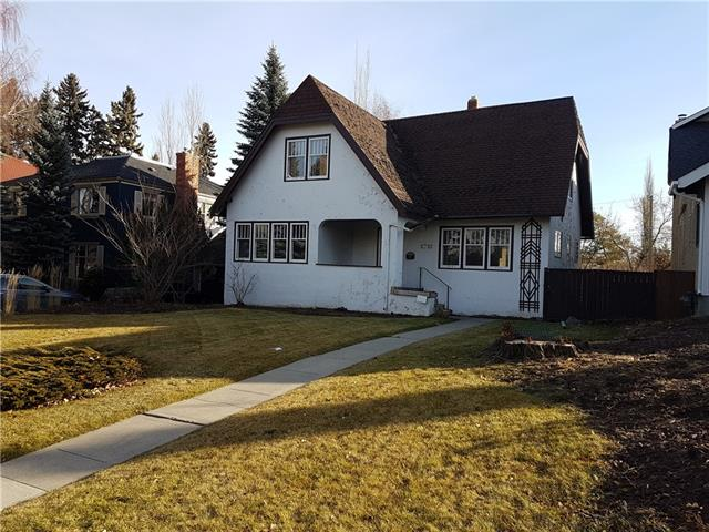 LAND, ARCHITECTURAL  PLANS AND ACTIVE DEMOLITION PERMIT . Existing home is considered a knock-down. Vacant for past 5 years . Well located Upper Mount Royal lot .  WALKOUT LOT Size is 50 ft x 147 ft ( 15.24x 42.68 m) with Rear lane .  Listing agent has  further details.