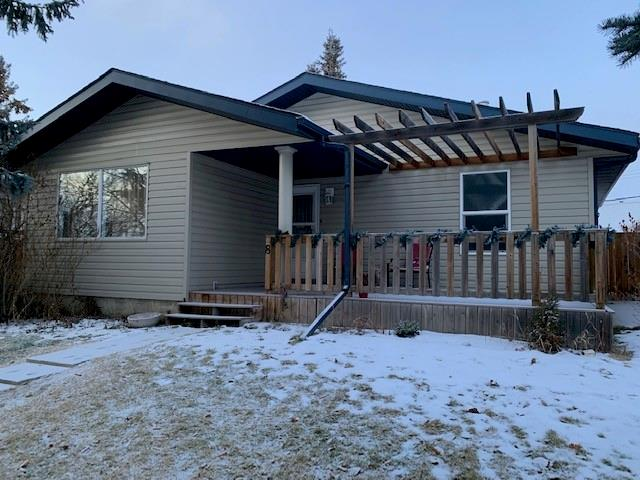 Great starter home in quiet neighbourhood of Airdrie Meadows! Located on a quiet crescent with bigger lots and mature trees. This 1024 sf, 3+1 bedroom bungalow was built in 1977. The basement features a large family room, an extra bedroom and 2 pc bath. Extra large utility room with washer & dryer included. There is a den for extra storage or exercise rm or craft room. You?ll love the oversized 22x24 heated garage with room RV or make a garden. Vacant and ready for quick possession.