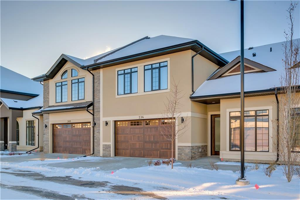 MAIN FLOOR LIVING AT ITS FINEST! These BRAND NEW Calais Bungalow Villas are one of the most sought out villa projects in Calgary,nestled in heart of Quarry Park just steps from the Bow River. Enjoy a lock-and-leave lifestyle and never have to shovel your driveway again! Main floors offer expansive layouts with in-floor heat throughout (including the oversized double attached garage!), gourmet kitchens, gorgeous gas fireplaces, generous master bedrooms with spa-inspired ensuites, and impressive 18? vaulted ceilings over the living spaces.  Upper loft area adds an additional flex space with either a massive bonus room or 2 additional bedrooms, plus a 4-piece bath.  All remaining units are brand new with 3 professionally designed colour schemes to choose from, and all come with a fully backed builder warranty program.  Immediate possessions available and homes are already over 50% sold out.  Prices range from $595,000-$795,000+gst. Don?t miss out, contact the Remington Sales Team for your private tour today!