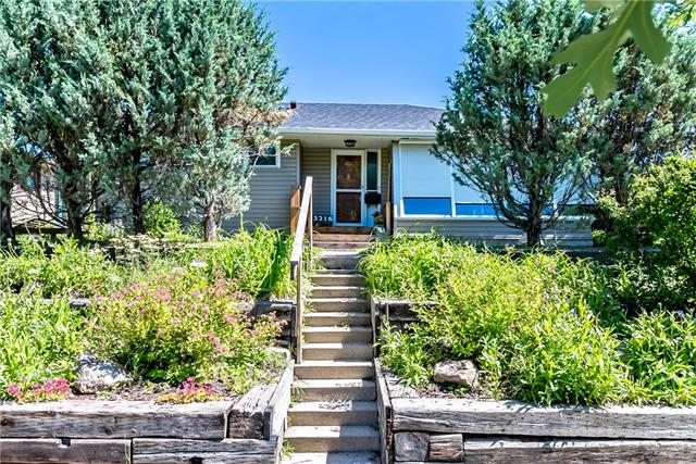"""Prime location to downtown, Confederation Park, Canmore Park, the Water Park and some of the most sought after schools in the city.  This large (1540) sq. ft. bungalow creates a fantastic main floor open concept with atrium style windows off the living room and the main floor family room.  Wood burning fireplace in the main area creates warmth and ambiance. Three good size bedrooms up and master even boasts it's own 3 piece ensuite , a rarity in homes of this age. The kitchen has had some cupboard upgrades and is conveniently located in the heart of this home so you can always be part of the action. Fully finished basement has a 2 piece bathroom pus large recreation and games room areas. Triple detached garage for Dad with one side being used as a """"Man Cave"""" and still plenty of room for large vehicles.  A very unique style home ready for it's new family."""
