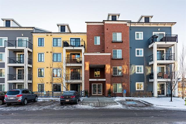 Amazing VALUE for this UPGRADED condo with titled UNDERGROUND PARKING. This BEAUTIFUL unit is well designed with no wasted space. The open concept is perfect for living and entertaining! The spacious kitchen has QUARTZ countertops, a flat eating bar and STAINLESS STEEL appliances. There is BALCONY off the large living room. There are 2 bedrooms, the master bedroom has a full ENSUITE! There is also another full bathroom and in suite laundry. Close to shopping, restaurants, amenities and major roadways. Don?t miss out on this fantastic condo!