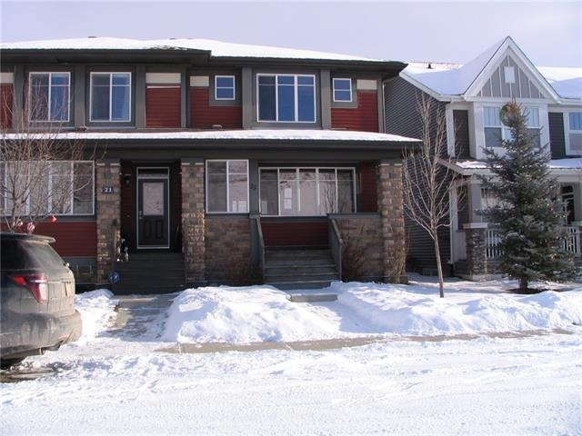 Located on a quiet street across from a natural green space in the Bow River valley. Close to Fish Creek Park and the Blue Devil Golf course, with access to the Bow River pathway system across the street. Three bedrooms up including a Master bedroom with a 4Pce En-Suite and walk-in closet. Open main floor plan great for entertaining or family gatherings.  Basement is ready to finish with roughed in plumbing for a 4th bath.