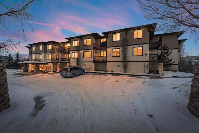 Welcome to the View at Sunrise...where pride of ownership shines throughout the whole building! This sparkling clean unit is vacant and ready for a quick possession. Providing a sunny living space, HUGE kitchen, master bedroom with 4 piece ensuite, a second spacious bedroom, in-suite laundry, and a balcony with view of the Rocky Mountains. This 50+ condo complex is loaded with amenities! The main level offers a huge games room , the second level offers a kitchen/ gathering room, and the third floor has a theatre room! Heated underground parking, additional storage, are just a few more perks with this condo. Planning for the future?? This is a great investment unit with a well managed complex.  Nothing left to do here besides move in , enjoy, and create your new relaxing lifestyle! The View at Sunrise has been proudly named Condominium of the Year... you will see why.
