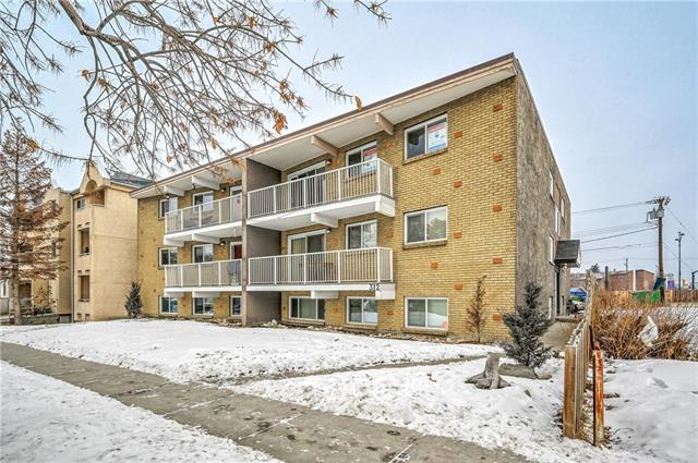 Welcome Home to the BEST location in Calgary! Large 2 bedroom top floor condo boasting over 800 sq. ft priced under $150,000!! A true rare gem! Bring your design dreams to life in this sprawling space. Minutes away from SAIT University and Peter's Drive In, easy access to transportation with a bus stop right out your front door. Large south facing balcony for those bright and sunny summer time hang outs and BBQ's. Ample stall parking behind building, and loads of street parking out front for your guests. Unbelievable opportunity for first time home buyers, renovators, and investors looking for a long term rental property to add to the portfolio. Rental vacancy is scarce in this building, these condos are in high demand. Book your private showing to see the potential for yourself! Come by #301 312 15th Avenue NE today. Conveniently available for your immediate possession.