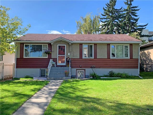 Builder alert! Tremendous opportunity for redevelopment in this 50x110ft / M-C2 lot in the popular inner city community of Shaganappi. Walking distance to Westbrook Mall & LRT, minutes to schools & easy access to Bow Trail & 17th Avenue. Fully finished bungalow with 3 bedrooms & full bath on main floor; 2 bedrooms, 2nd kitchen & full bath in lower level. Property is rented up & down. West backyard with concrete patio & oversized (26x24) garage.