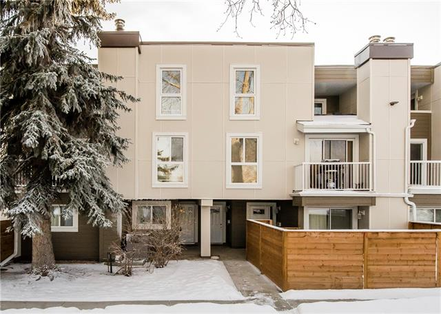 This condo is steps away from Fish Creek Park and is close to schools, shopping, restaurants and transit. The two storey unit has a living room with hardwood floors, a wood burning fireplace, a dining area, an updated kitchen and a storage and laundry room all on the main level. The upper level has two bedrooms including the master with its own private balcony and is finished off with a updated 5 pc. bathroom. With easy access to all amenities this property is ideal for someone just starting out or add it too your rental portfolio. Book your viewing today.
