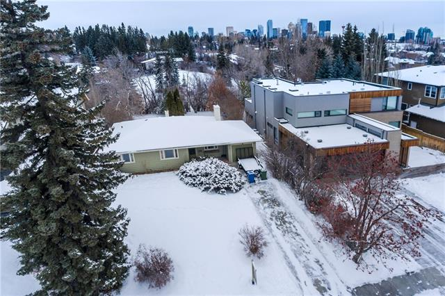 Amazing opportunity to build or renovate on this massive 65x160 ft lot in Elbow Park! For those of you looking to build, a two storey home would provide you with city views from the second floor while your large backyard welcomes you with plenty of privacy with its tree cover and no backing neighbours. For those looking to renovate inside this well kept, original owner home offers - 2 bedrooms plus den/office, full bathroom, a large living with wood burning fireplace to keep warm on those cold winter days, and an unfinished/unspoiled basement waiting for your creative touch! Homes on this street don't last long as its highly sought after, contact myself or your favourite realtor today for a private viewing!