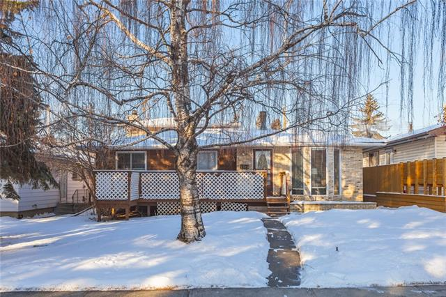Exceptionally well maintained 1 ½ storey with single detached garage. One of the largest homes in the area with 4 bedrooms and 2 bathrooms. Very bright and open plan. Formal living with bay windows with newer blinds and fireplace. Bright and sunny kitchen with centre island and lots of cabinetry. 3 other good-sized bedrooms with 4-piece main bathroom. Den/hobby room. Spacious sunken family room with fireplace and built ins. Staircase leading upstairs to large master bedroom with a 3-piece ensuite. Developed basement with recreation room with a bar, office, storage and laundry room. West backyard with huge concrete patio and fireplace. Oversized detached garage. RV parking at the back. Newer roof shingles and furnace. Quiet location! Close to schools and amenities and transportation. Excellent family home! Exceptional Value!