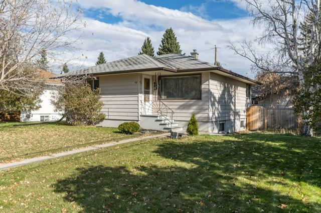 Investors, flippers or new home buyers, welcome to 84 Waterloo Dr SW! This RARE 60' Lot is in a great location in the community of Wildwood. This 2 bedroom bungalow is situated on a huge corner lot. It has an Illegal suite in the basement that is currently being rented out to a great tenant that would love to stay! Original hardwood on the main floor and an amazing backyard with a double detached garage. Close to schools and shopping, the mall is a 5 min walk away and a 5 minute drive to downtown. DON'T MISS OUT ON THIS OPPORTUNITY!!!