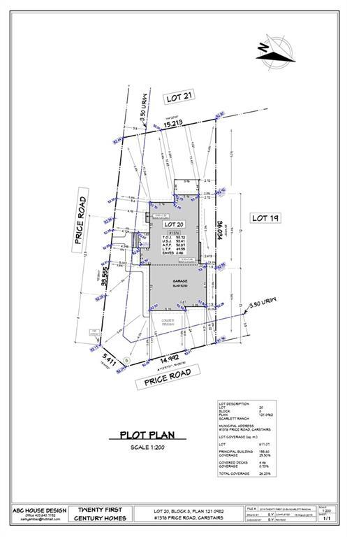 Attention all builders, developers, and private clients!! FULLY SERVICED AND READY TO BUILD LOT AVAILABLE! This lot here is ABOUT 50 ft wide and 118 ft long. Please call listing Realtor for details and plans for this lot! Lot comes with pre-approved plans and all ready to go.