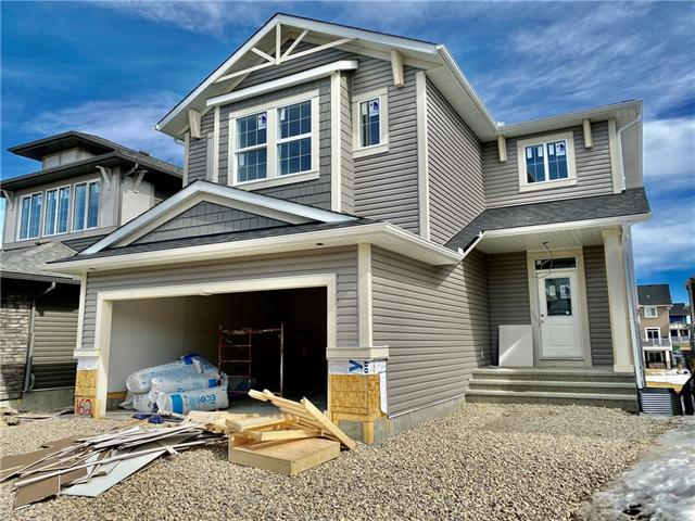 Location, Location, backing onto the Canal. Brand new the Pinnacle built by Stepper Homes, building homes for over 60 years. This home offers numerous upgrades & features which include: walk out basement, 9' ceilings main floor, 26' X 8' deck & patio, carpet, tile & LVP flooring, gas line to bbq & stove, quartz throughout, gas fireplace, wrought iron railings, double attached garage. The main floor features a 2pc bath, great room with gas fireplace, good size kitchen that offers an island, walk through pantry & a nook that has access to the deck overlooking the canal. The upper floor features a 4pc bath, bonus room, laundry room & 3 good size bedrooms. The master bedroom offers a full en suite & walk in closet. The lower walkout level is awaiting your development ideas. Close to green spaces, the Canal, walking paths, shopping & all other amenities. Possession May 31.