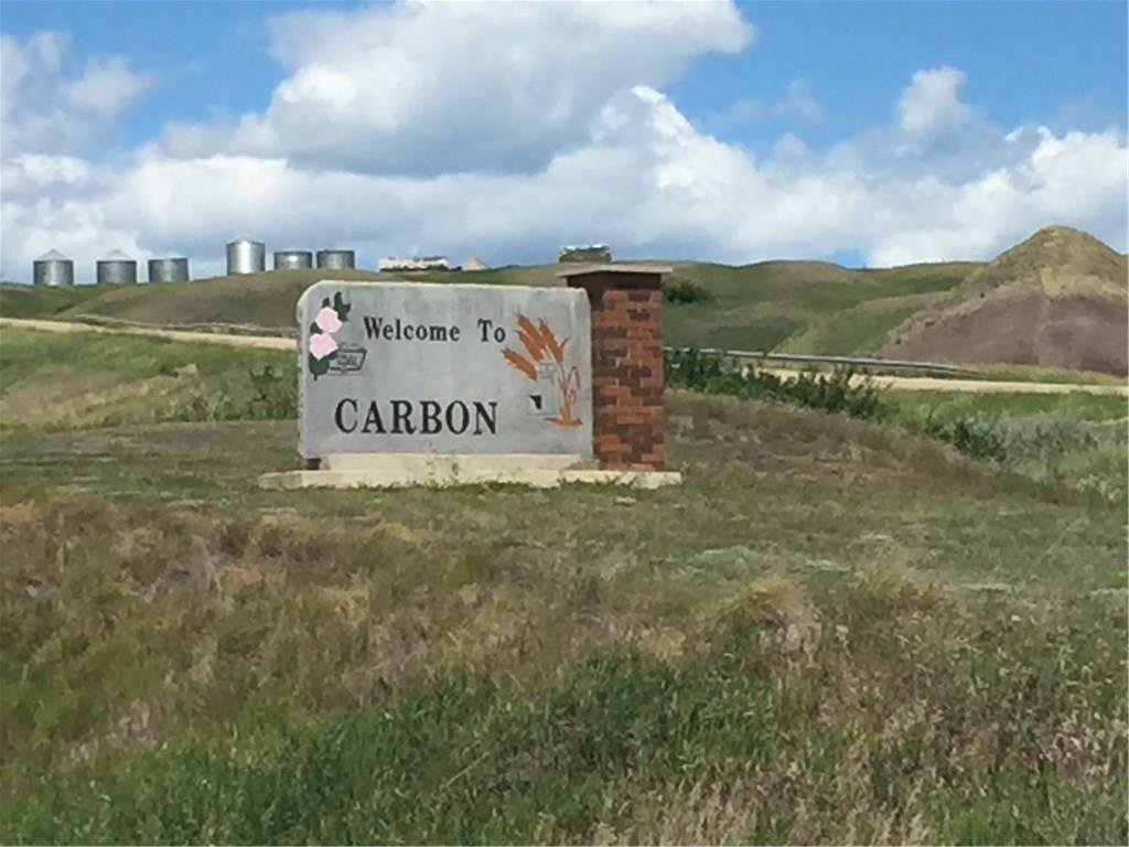 Lot for sale in the Diamond Valley Subdivision. The asking price is an incentive offered by the Village of Carbon. Buyers must build and prove occupancy within 18 months of possession date or an additional amount will be levied on the property taxes. Call Lister for more details. Rolling hills and a tranquil creek winds through this clean, well kept community. Carbon offers a K-9 Tri-campus school with the designated high school and provided transportation to Acme school only 15 minutes west of Carbon. A grocery/liquor store, 24 hr. fuel station, fire department, archery range/curling club, public library, community hall, post office, car wash, U-haul dealer, bank, 3 restaurants, lounge/bar with pool table, outdoor pool, 2 ball diamonds, basketball/tennis courts. Just 1 hour from Calgary and 45 mins to Airdrie this is your ideal hide away from the hustle and bustle of the city or a quaint community with strong roots for your growing family!!!