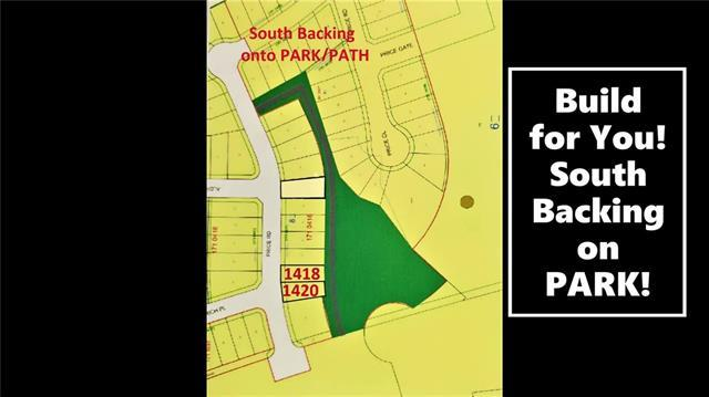 Serviced lot, $112,000 plus GST.  Also option for builder to build for you. Sunny south backing Lot, backing onto Park/Pathway!  Will accommodate a triple garage.  Great family community, walk to school, parks, rec facilities nearby, and quick commute to Airdrie, Balzac Mall, or hospital nearby at Didsbury.  A little drive, a lot of savings!