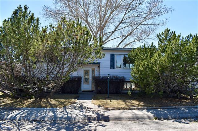 Welcome to this AFFORDABLE Home that sits on a Corner Lot in the Community of Big Springs in Airdrie. This Home has seen many Upgrades including New Windows throughout, New Shingles in 2014, Beautiful Hardwood on Main Floor, Bathroom Renovation, Kitchen Renovation with Quartz Countertops and Stainless Steel Appliances, Newer Carpet, New Lighting, and more! This great home has 2 bedrooms upstairs and another on the lower level. Large Living Room, and Huge Family Room with new ceiling tiles. The 25 x 25?6? Garage is OVERSIZED and Heated. RV Parking along the east of the home. Lots of trees and bushes surround this home making it beautiful in the summer and allowing privacy. This is a great find, at a very affordable price.