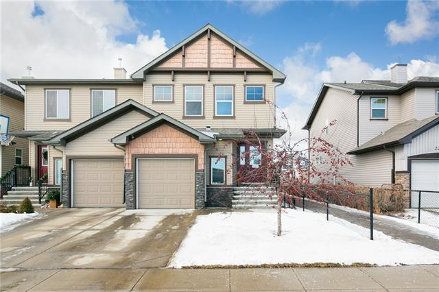 Welcome home to this fully finished, semi-detached, front garage home in Luxstone offering a combined 2164 sqft of updated living space. The main floor layout is open and functional, great for entertaining. Offering an island kitchen with eat up bar, dining area, a comfortable sized living area with gas fireplace and a 2pc bath positioned privately away from the main living areas. The master bedroom includes a spacious 4pc bathroom with walk-in closet. The other 2 bedrooms upstairs are a good size for your kids or out of town guests and they're complimented by a 5pc bathroom. You'll also find a convenient laundry area upstairs. The basement comes fully loaded with a built in entertainment system that comes with the home, a fourth bedroom and a 3pc bath. Luxstone is located close to an abundance of amenities, main roads for easy commutes and is home to the St. Martin de Porres High School. Recent updates to the home include new flooring, basement reno, baseboards, paint and more. Schedule a viewing today!