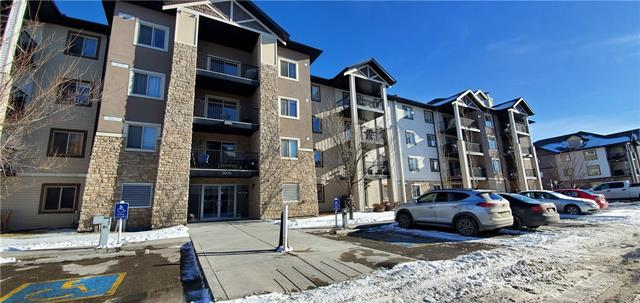 NEW PRICE! This well maintained 2 bedroom, spacious bathroom, and in-suite laundry unit is located on the ground level of the Bridlecrest Pointe apartment complex. Showcasing an entertainment-size covered balcony which overlooks the treed greenspace offering privacy and nature's finest views. One underground heated parking stall. Plenty of visitor parking. Close to shopping, public transportation, schools, and restaurants. Check out the 3D virtual tour for your initial viewing of this well priced unit!