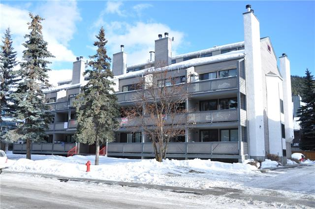 Grey Squirrel Village Studio Close to Downtown Banff!  This bright open concept home has been tastefully upgraded with fresh paint, vinyl plank flooring, and new light fixtures. Priced to sell, appliances are included, there is large balcony with great views, plenty of storage and off street parking with plug in. Clean and well cared for and ready for immediate possession!