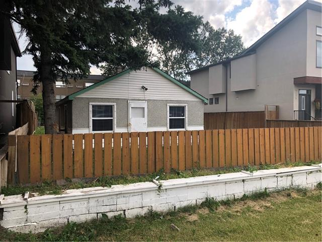 Attention developers!! Large 50x120 newly zoned for increasing multi-family density, to the current M-CG zoning. The house is not in livable condition, but easy tear down with no basement. Located on a quiet street with south yard and in one of the most active developing inner city areas of the city. Close to two hospitals, U of C, Market Mall, downtown and easy access to the mountains. Great value!! Restricted Covenant on Title will be removed