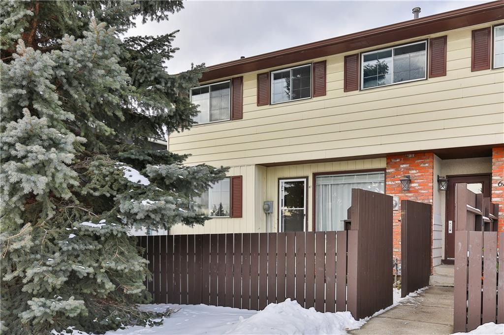 Two bedroom's and a den with 2 full bathrooms.Private yard with storage shed, 1 block from Tim Horton's, Save On Foods and Transit close by.Fully developed lower level with full bathroom that has a separate shared entrance. Washer and Dryer on upper and lower floor's.Low condo fee's. Assigned Parking Stall right outside your door.#67. Seller discloses no permits for extra washer and dryer.