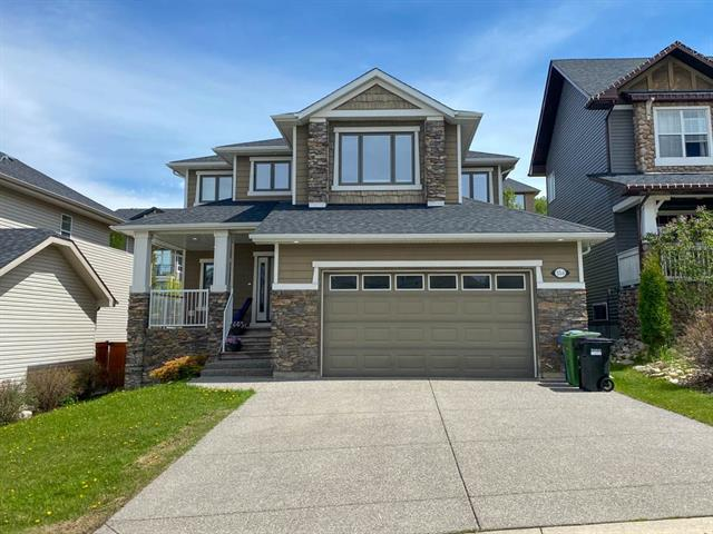 Amazing opportunity to get into a 2600sq.ft. 3 bedroom home in the quiet community of Crestmont! Located on a very quiet street, just steps to walking paths, 5 min walk to the community centre and super easy access in/out of the area. Upon entering, you?re greeted with a large tiled foyer opening up to the main living area. The main floor primarily is finished with tile minus the carpet in the den and living room. The front den is bright and inviting and has French doors to create privacy. Once in the living area, it?s fully open, excellent for entertaining and offers a 3 sided fireplace to separate the kitchen, nook and living room. Huge windows make this area bright and welcoming. The large kitchen nook is perfect for your family meals, the kitchen itself is very functional with a centre island, loads of counter and cupboard space, oversized side x side fridge/freezer, wall oven and microwave, gas range, large sink overlooking the yard and corner pantry to complete your lifestyle experience. See more...