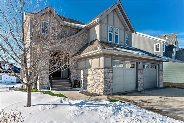 Open House, Feb 15, 1-3pm.  Luxury Living at its finest! Welcome to 653 Coopers Crescent, in the highly sought-after estates area of Coopers Crossing. This show home quality house boasts 3 fully finished levels complete with upgrades throughout, including custom built-ins throughout the home!Large open concept living on the main floor includes an impressive Chef Kitchen, featuring granite counter tops, elegant upgraded light fixtures, a large double fridge, gas stove and an