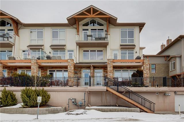Imagine yourself sitting on your couch or even better chillin on your patio and enjoying the mountain views. If this sounds like you, this unit is perfect for you! This one bedroom unit is located in the Blue Sky complex in Rocky Ridge which is close to Crowchild Trail and walking distance to C-Train Station. The bedroom is towards the back of the unit and where you can access a back patio area. The main living area is open and features 9ft ceilings. To top it off the unit comes with a title parking stall and storage unit. To book your private showing simply contact your favorite agent!