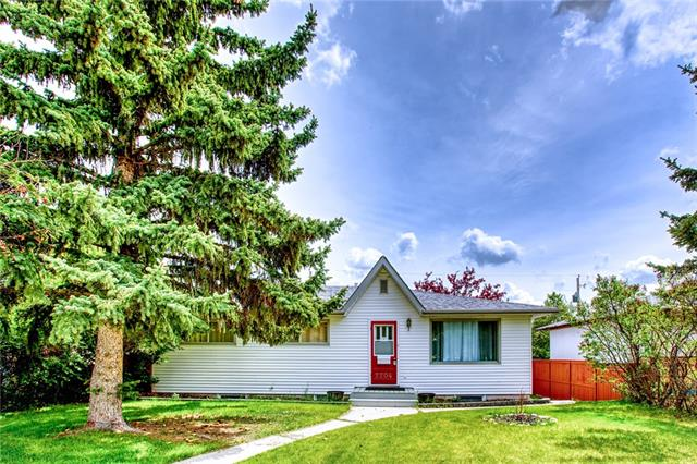 WELCOME TO 2204 38 St SW. This BUNGALOW has ideally located across from green space, minutes to all downtown, and all amenities such as grocery, shopping, and public transportation. This is an extremely well-maintained home with two bedrooms on the main level. The master bedroom offers an ensuite bathroom and built-ins in the closets. The living room and dining room is inviting and has lots of space to entertain. The basement has a separate entrance and is fully finished with the living room and bedroom. An oversized insulated double detached garage completes this home.