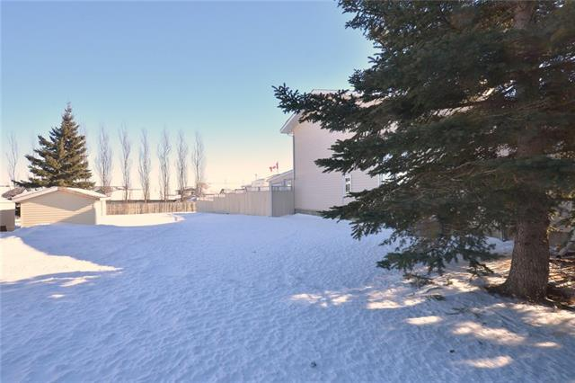 WOW! RARE - Beautiful LOT in Irricana. Approximately 16.7-meter frontage, located on Madison Drive in the quiet town of Irricana. The driveway is blacktopped. All services at the front of the property. Seldom does a lot this size come up in Irricana. Great community located less than 20 minutes to Airdrie and 25 to the Airport. Easy commute. There is a walking path located behind the property. The land is fenced on 2 sides. Come and build your dream home or check into the rules for bringing in your new modular home on a foundation. Exceptional value!