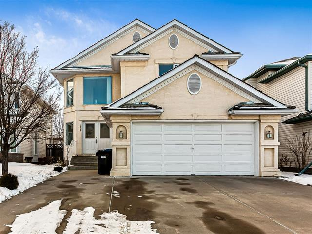 Welcome to 238 Valley Glen Heights in the NW community of Valley Ridge. This amazing community offers many parks, pathways, and a semi private golf course. Location is key as it is only a 20 min drive to downtown Calgary. Minutes away from COP and all major roadways. Also enjoy quick getaways to Calgary's backyard in Banff National Park. Walk into the vaulted entrance with huge windows providing lots of natural light. Main level features a den, separate dining area, a great room with fireplace open to the kitchen. Head upstairs on the open riser staircase. New carpet on entire upper level. Upstairs you will find a flex area with a total of 4 bedrooms. The master bedroom includes a walk-in closet & ensuite. All bedrooms are good sized. The backyard has mature bushes and trees to provide some privacy. This home has been well maintained. Book to view today!