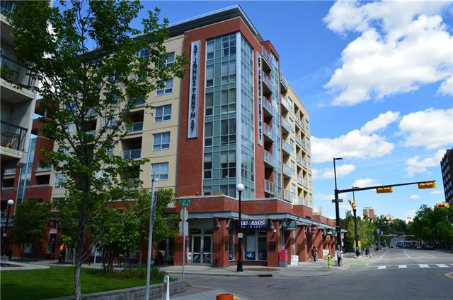 STUNNING VIEWS!!! Would you like to live walking distance from everything? This inner-city condo has everything you could dream of within walking distance with a walking score of 97!!! This well-maintained, stylish corner unit is in great condition with amazing views. Amazing chef style kitchen with beautiful granite counter-tops, stainless steel appliances, and a large sit-in counter bar. 9 foot ceilings make this space bright, giving it a very welcoming ambiance throughout. Bright Master bedroom has a walk-in closet. Spare room would be a great office or baby room. Bathroom has executive shower and granite counter-tops. This unit has in-suite laundry, a full size heated storage unit downstairs, as well as a heated titled parking spot. There are additional bike storage rooms and lots of visitor parking. Capture the amazing views from the west facing balcony. Not far from river pathway system and literally steps from everything you need. This quiet concrete building is waiting for you!