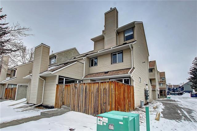Welcome to your affordable opportunity to own in the desirable community of Glamorgan which offers tremendous value! This 2 storey townhouse offers 2 bedrooms, 1.5 bathrooms & 1,081 SQ FT of functional living space. This unit features a stylish kitchen with granite countertops and a large raised eating bar. This level also includes a spacious living room with gas fireplace, family room, 2 piece bath, utility room & access to your private single attached garage. The upper level contains 2 generous sized bedrooms including the master bedroom that has its own private balcony - a perfect space to relax, a full 4 piece bath & laundry. Other features include hardwood flooring, fenced yard with deck & storage.  This complex is close to all inner-city amenities including shopping, public transportation, parks, schools, major roads and much more. Don't wait on this one, book your private viewing today!