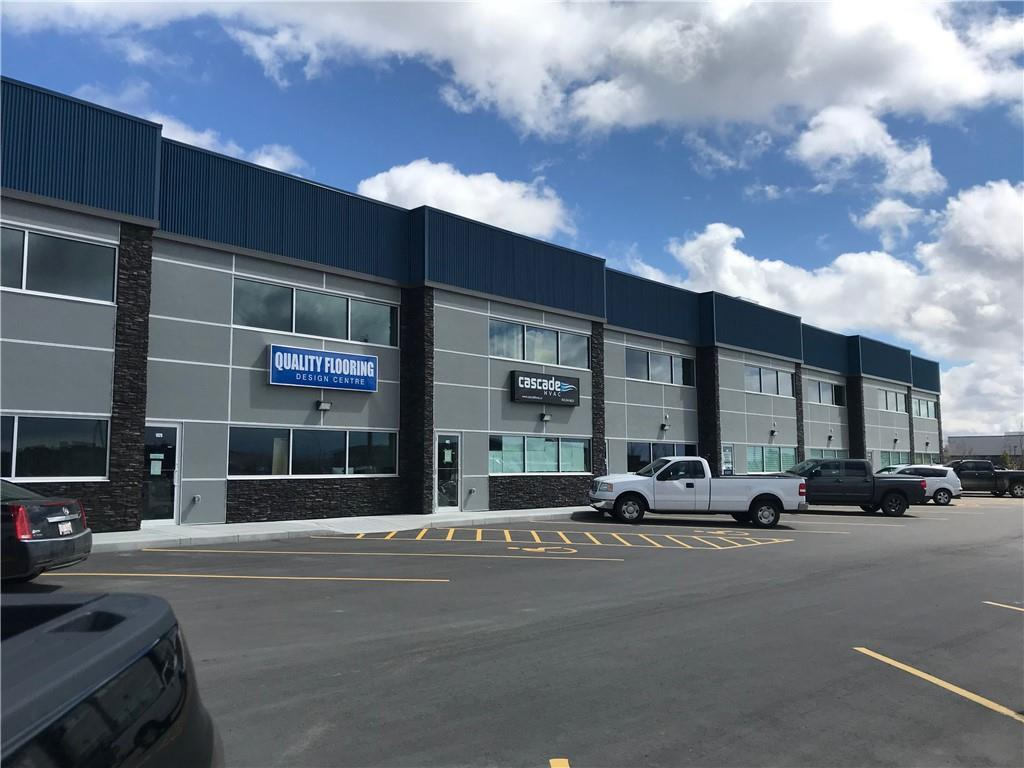 Brand new commercial condo bay available with great access and lots of Parking. Need to expand your business, wanting to buy, well look no further!  2224.7 sq ft (89' length x 25' width x 20' height clear), this unit can be developed to suit your needs and also available is 1 outdoor 25 x 50 secure fenced in storage yards. Op Cost Estimate: $7.00 incl owner?s insurance, property tax, exterior maintenance, condo fees, snow removal and yard maintenance. Power: 3 phase and 200 amp service. (Might be able to go to 400 amp if needed). Loading Doors: 14? h x 12? w Drive In. Heater: one overhead ceiling mounted heater. Call now for more information!