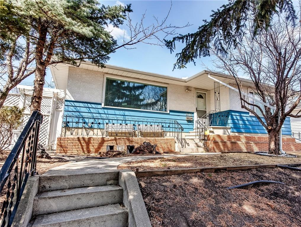This lovely Bungalow is move in ready. Zoned MC1. Lot 55' x 100' with Great value. Main floor is Traditional Layout of Living Room, Dining Room, Kitchen and Two very Large Bedrooms, Bathroom with Double Sinks. New items include Samsung SS Fridge, Samsung SS Stove, Kitchen Cabinets, Roof, HE Furnace (2012), HWT (2012), Electrical Panel (2011). Triple Pane Living Room Window and added Attic Insulation assist with lower street noise. Fully Finished Original Condition Basement with Lots of Windows, Gigantic Family Room could easily be Converted into 2 more Bedrooms. Bathroom, Laundry/Storage, Workshop, Utility room.  Private, Fully fenced, well Planned and Cared for Beautiful West Facing Backyard,. A Gardeners Delight - apple trees, perennials, shrubs, gazebo, water fountain, sitting areas, archways. Back Lane access to the Single Detached Garage. Glendale is a sought after neighbourhood for Schools, Shopping, and Easy Access to Major Roadways.