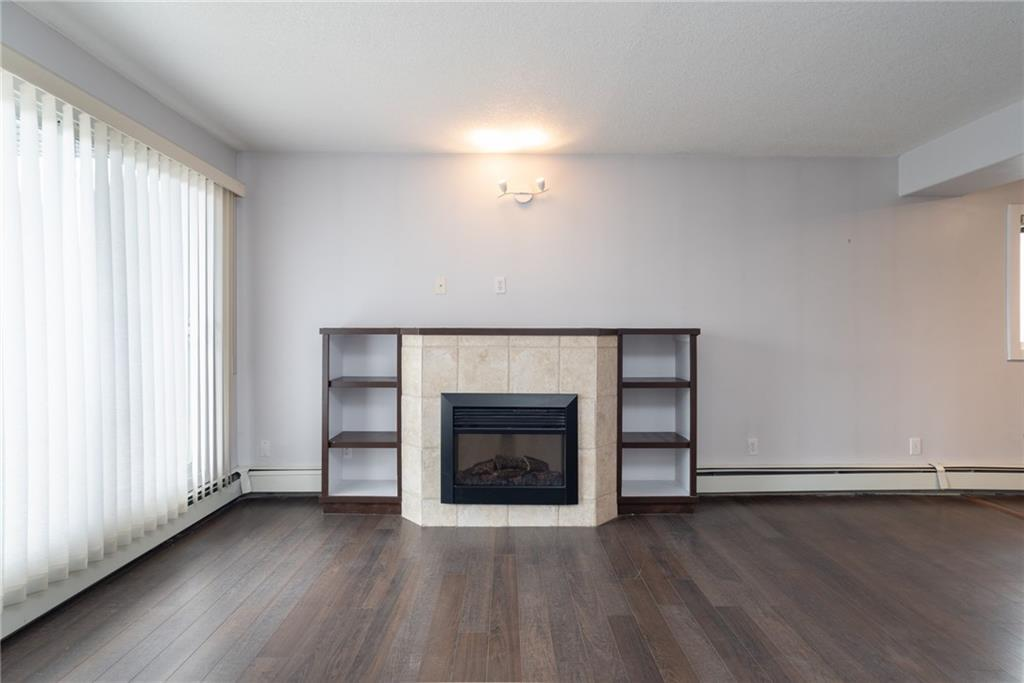 An amazing opportunity to own and not rent in a great location in the desirable neighborhood of south Calgary, walking distance to 17 avenue, and Marda Loop!  This 2 story condo features laminate flooring throughout the open main floor which features a gas fireplace, north patio, and a kitchen with newer dark cabinets.  Upstairs there are 2bedrooms and a den/office including the master which features its own private patio and an office with views to the north!  Call today for your private virtual or socially distanced showing.