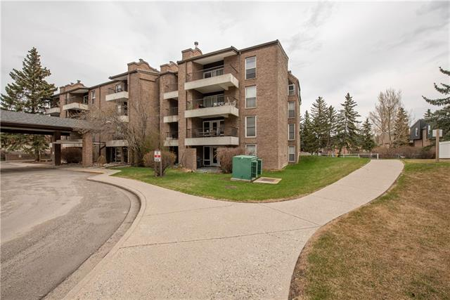 This great 2 bedroom condo is located in a concrete building on the top floor and is a corner unit adding to the quietness of the unit. The complex is well established in the community of Braeside and has an electronic security gate for extra comfort for its owners. The open floor plan features a living room with hardwood flooring and west facing sliding patio doors, a dining area and a galley style kitchen. Both bedrooms are ample size and there is in-suite laundry and storage. The complex provides an extra storage unit on the main floor for each condo plus two parking stalls in their underground parade. Transit is located just outside the complex and it is only steps away from shopping and the Southland Leisure Centre. This condo is ideal for anyone who is just starting out or for anyone wishing to downsize. Call your realtor today and book your own private viewing.