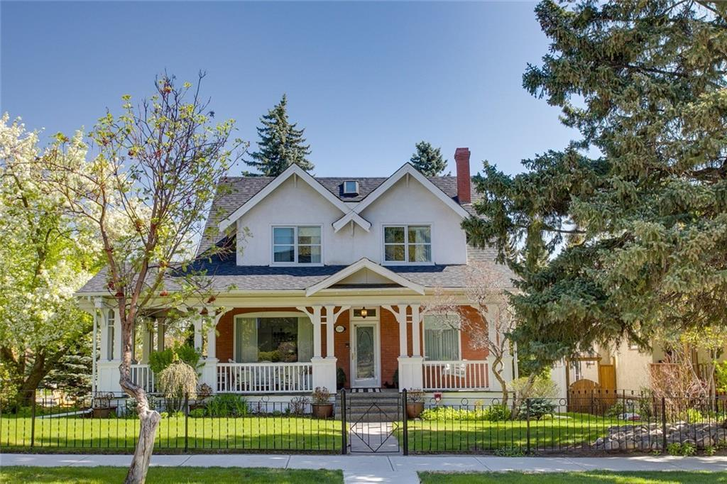 OPEN HOUSE SUNDAY, JULY 12TH FROM 1-3 PM. Located on a quiet tree-lined street in historic Scarboro & situated on a sweeping 857 sq m corner lot, this splendid, gracious character home has been beautifully renovated & designed by Paul Lavoie, creating warmth while maintaining the original charm of the home. The main level presents hardwood floors, wainscoting & some leaded glass windows which showcase the spacious foyer, formal living & dining rooms. The family room with access to the back deck is open to the well-appointed kitchen finished with quartz counter tops, breakfast bar, island, tons of storage space & top of the line stainless steel appliance package. A tranquil front den/office with fireplace is tucked away just off the foyer. The master retreat is also on the main floor & boasts a built-in wardrobe that spans one wall & a spa-inspired 5 piece ensuite with dual sinks, a freestanding soaker tub & glass enclosed shower.