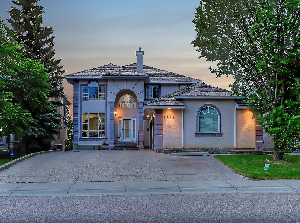 Incredibly RARE, coveted LOCATION on the ridge in Signal Hill! Enjoy unobstructed VIEWS of the DOWNTOWN SKYLINE & GLENMORE RESERVOIR; BACKING ONTO GREENSPACE on a HUGE beautifully landscaped lot! This FULLY FINISHED WALKOUT home has approx 3980sqft of developed living space, a HEATED TRIPLE attached garage & room for 7 vehicles in your driveway! The grand entrance way is one to impress leading into great design, distinguished features & shows pride of ownership throughout. The main floor features OPEN TO BELOW, SKY HIGH WINDOWS for gorgeous views & plenty of natural light, formal & casual living and dining areas, a spectacular curved staircase, gourmet kitchen w upgraded appliances, GRANITE COUNTERS, opens to a FULL WIDTH BACK DECK & a spacious office. Upstairs has 3 large bedrooms inc. a master retreat w a 5pc spa-like ensuite & walk-in closet w built-ins.