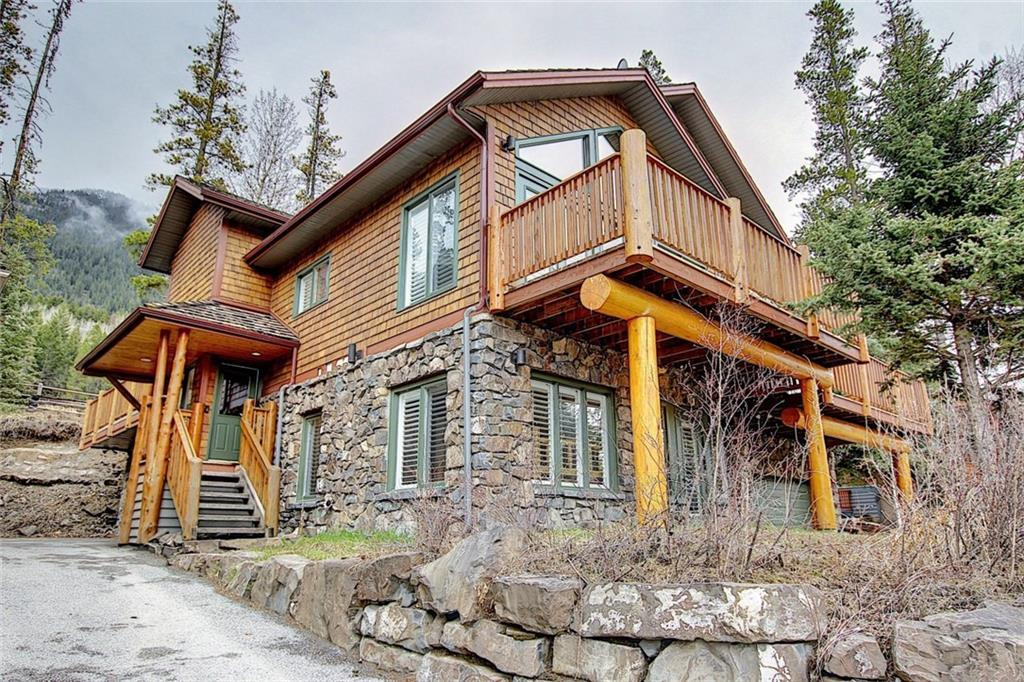 For Full Details Click More Information - Your dream home, move-in ready, in high demand area. 4 bdrm, 2 lvl, 2.5 bth, backs onto Silvertip golf course. 2 car garage, multiple outdoor decks, fireplaces, granite counter-tops throughout, lavish wood flrs, vaulted ceilings, heated flrs, & the best furnishings. New roof installed as of June 2020. - For Full Details Click More Information