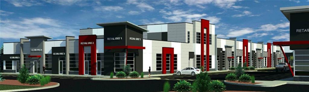 Opportunity to start a brand new BUISENESS WITH IB ZONING  right by the Airport. Multiple units available from August 2020. Attractive 1500+ sq.ft. spaces for SALE in a brand new plaza. Shadowed by ATB regional head office anchored business park with 600+ parked vehicles everyday. Shadowed by pool of 7 Hotels - Radisson Hotel, Holiday Inn, Courtyard by Marriott, Residence Inn, Sandman, Sandman Signature, Hilton Garden. Picture is for reference only.