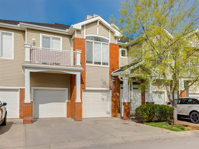 Welcome to Wentworth. A beautiful 2 bedroom townhouse complete with neutral decor and white trim. You will find large windows and a patio door out of your living room leading out onto your east facing balcony to enjoy your morning coffee. Your kitchen has a breakfast bar, maple cabinets with black appliances. This home has a gorgeous master bedroom complete with a walk-in closet and ensuite. You have an additional bedroom with enough privacy making use of the extra bathroom this townhouse offers. An attached garage has extra space for a workshop or extra storage. Enjoy walking distance to some of Calgary's best public and separate schools, and be part of the buzz close to West 85th, shops and dining, and incoming West District! This is the place to be! Call your favourite neighbourhood realtor to set up your private viewing.