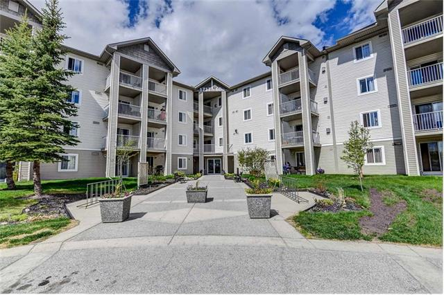 This is a deal that looks better than renting! Large bachelor unit with a specious den that you can use as your bedroom! $292 condo fees include all standard utilities, also electricity! Yes, parking stall is included in the asking price too! All of that in the pet friendly building well managed and maintained. Conveniently located close to public transportation, Elliston Park, East Hills Shopping with Costco, Walmart, Movie Theater, coffee shops and a quick drive to down town of Calgary. Offering IMMEDIATE possession! Call to book your private showing and make it our own home now!