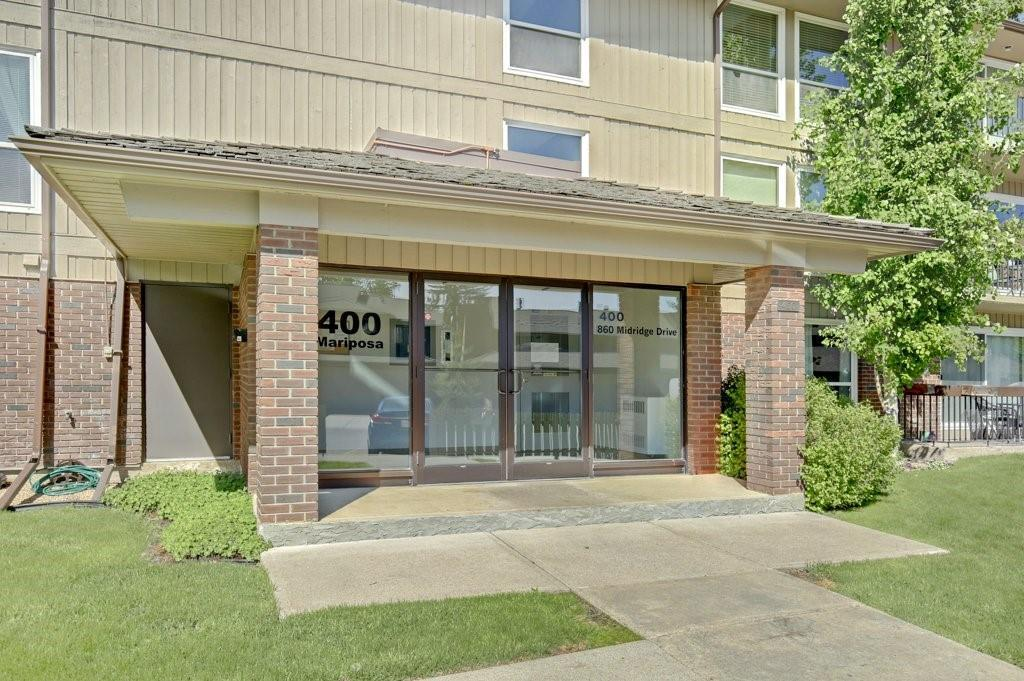 This GORGEOUS condo is FULLY RENOVATED from ceiling to floor. Quietly located on a beautiful residential street, just steps from Fish Creek Ridge, this home is budget-friendly and fabulous! BRIGHT one 1 bedroom MAIN FLOOR unit with SPACIOUS ROOMS, a wood-burning FIREPLACE with gas log lighter, UPDATED KITCHEN, modern CLASSY LIGHT FIXTURES, UPDATED  BATHROOM, doors, baseboards, drywall, ceiling, WINDOWS, and more. Wide plank HARDWOOD and STONE TILE  flooring in the main rooms, and short shag carpet in the bedroom. Included is, STAINLESS STEEL APPLIANCE package, in-suite laundry with storage area, 1 assigned parking stall (in front of patio), and an assigned storage unit. Finished in MODERN NEUTRALS, and VERY CLEAN, this home needs nothing done before you move in and enjoy!  Outdoor enthusiasts, you'll have miles of pathways right out your door and Lake Access. Call your favourite Realtor to view.  View virtual tours of each room, floor plan, and map, through the link.
