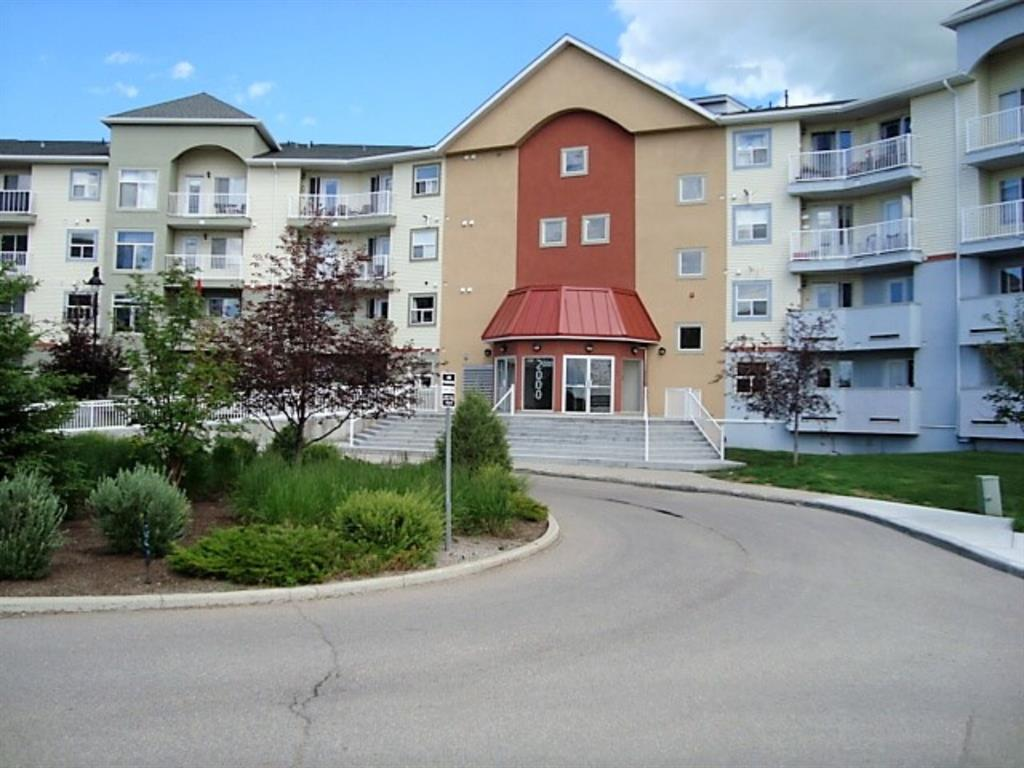 FIRST TIME HOME BUYER or INVESTOR ALERT!! You'll find great value in this condo located in NW Airdrie. Close to schools, shopping, golf and other great amenities. The apartment itself has 2 Bedrooms and 2 Baths. The master runs the length of the apartment with a walk in closet and 4 pc ensuite. There is also plenty of closet space in the rooms and cupboard space in the kitchen. Also included is a stack able washer and dryer set. The unit has been recently painted, the boiler is new and it is move in ready. Book your private showing today!