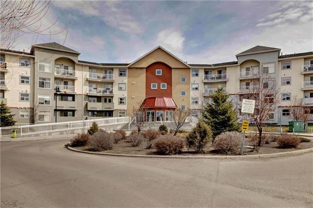 !!!!! H-U-G-E P-R-I-C-E ---- REDUCTION !!!!!!ATTENTION FIRST TIME HOME BUYERS or INVESTORS!! You'll find great value in this 2nd floor condo located in NW Airdrie. The apartment has 2 spacious bedrooms and 2 full baths with in suite laundry, in-floor heating & private balcony looking out onto a quiet parking lot. Tons of closet space and storage/ cupboard space throughout. Located close to all major amenities such as schools, parks, transit nearby, shopping within walking distance, backing onto a golf course and so much more. Unit is currently rented out and used as a bachelor pad so condition may be a bit rough but can be cleaned up really well. Priced to sell, call for your private viewing today!