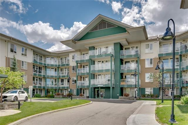 Top floor unit with unobstructed sunset views! This one bedroom apartment located next to the University of Calgary easily rents out and is a great investment opportunity. Being on the top floor facing west means there are no loud neighbours above, less noise from the street below, and panoramic views towards the mountains. It?s an ideal spot for someone who wants to walk to campus or hop on the C-Train to get around the city. You?ll find Market Mall, the Foothills and Children?s Hospitals a very short distance away. The kitchen features ample wood cabinets, granite counters, and a breakfast bar. A good sized walk in closet connects the bedroom with the bathroom which also includes an in-suite laundry. Additional storage is available in the assigned storage unit. There?s enough room on the balcony for a BBQ and a bistro table. Also includes 1 titled heated underground parking stall + titled storage. Students will love this location, the view, it?s accessibility and the convenience this condo provides.
