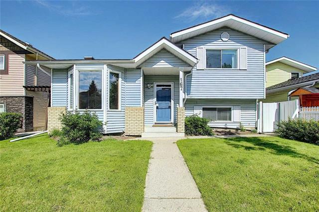 Updated 2,275 sq ft devd, 4 bedrms, 3 baths four level split home in the established community of Macewan. Main level features a good size living rm which opens into the dining rm & kitchen w/ a breakfast nook. this level has cork flooring throughout. There is access from this level to the deck w/ a bbq gas line & stairs down to the fenced backyard. A few stairs leads to the upper level, this has the master bedroom w/ a full ensuite, 2 additional bedrooms & the main bath w/ a jetted tub. Third level comes w/ a large rec/family/games room w/ built-ins, fireplace, wet bar & the 4th bedroom. This level has laminate flooring & it is a walkout to a patio in the backyard. The 4th level has the 2nd rec/family/games rm, utility rm & a crawl storage space. There is also an enclosed access to an oversized 2 car garage w/ a newer garage door & opener. Other updates include newer roof shingles, furnace & hot water tank. Truly a nice place to call home, call to view today.