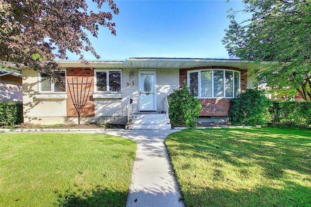 Excellent LOCATION for this beautiful bungalow on a quiet street. WALKING distance to LRT, U of C, schools and shopping. There have been several  UPDATES including windows,Furnace, carpet and paint. The main floor features a large kitchen with newer appliances with dining area. A LARGE living room with a Bay window and a cozy FIREPLACE, 3 bedrooms and a full bathroom. There is a SEPARATE entrance on the side. The basement is fully FINISHED with another bedroom ,den, another full bathroom and large REC room with a wet bar. There is a Large WEST facing Fenced backyard-perfect to enjoy all summer long. There is also a DOUBLE detached GARAGE and RV parking. Ideal location for U of C students or staff and an easy commute downtown.