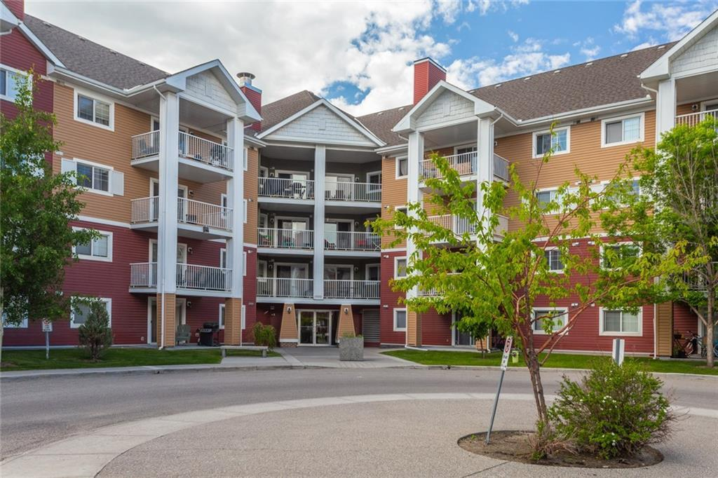UNBEATABLE VALUE!  Beautifully finished main floor unit with bright open design and welcoming private patio. The perfect home for a first time buyer or a prime investment opportunity. This unit is move-in ready, has recently been painted and features new laminate flooring.  Two spacious bedrooms and two full, 4-pc bathrooms!  Master has large walk-through closet. Brand new dishwasher and upgraded washer/dryer (in-suite laundry). Also includes titled, underground, heated parking. Conveniently located at the future Green Line LRT station, close to South Health Campus. Minutes to Stoney and Deefoot Trail. All amenities nearby - shopping, parks, coffee shops - all in walking distance!
